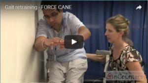 Gait Retraining – Force Cane Video