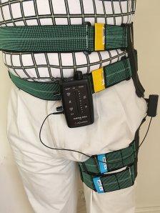 Figure 7 Hip Angle Sensor for biofeedback