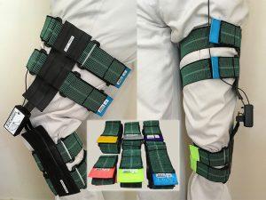 Immediate biofeedback on hip, knee or elbow with sensors - nCounters