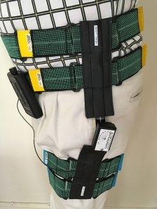 Angle Sensor unit on Hip for Biofeedback