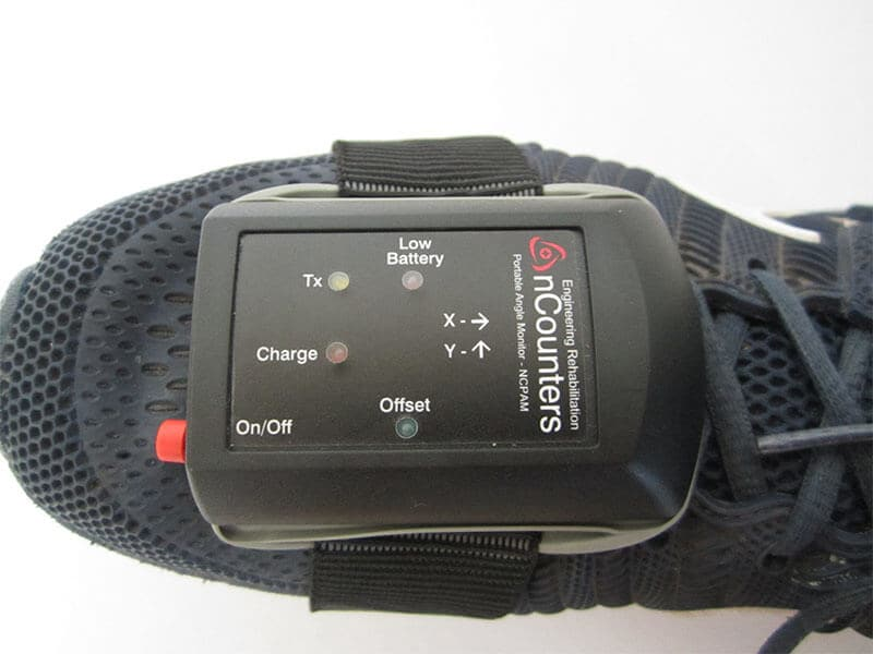 Wearable Joint Range of Motion (ROM) Monitor New PAM 2